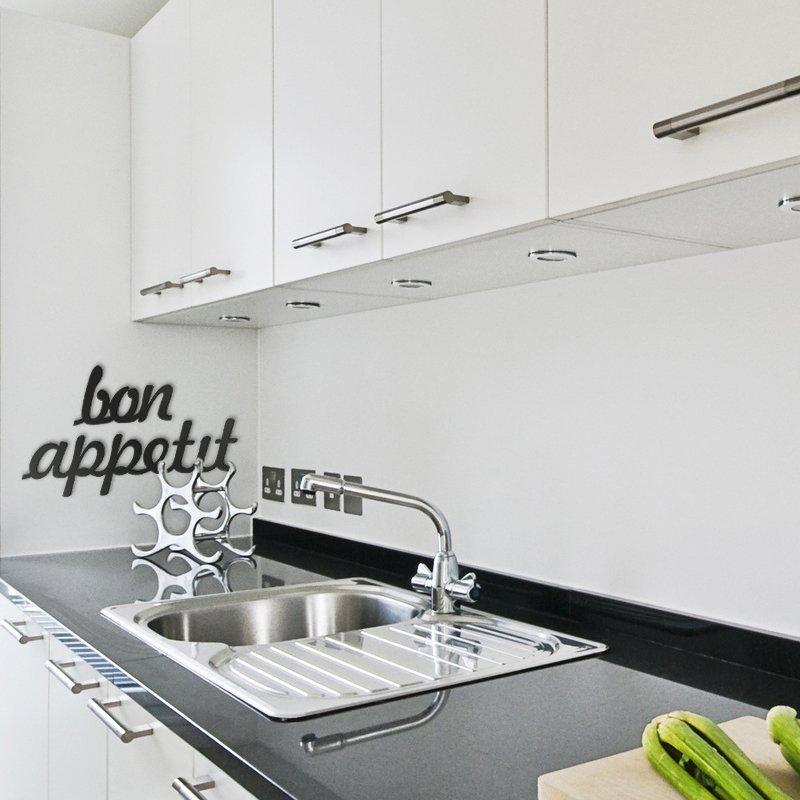 Dekoracyjny napis do kuchni Bon Apetit