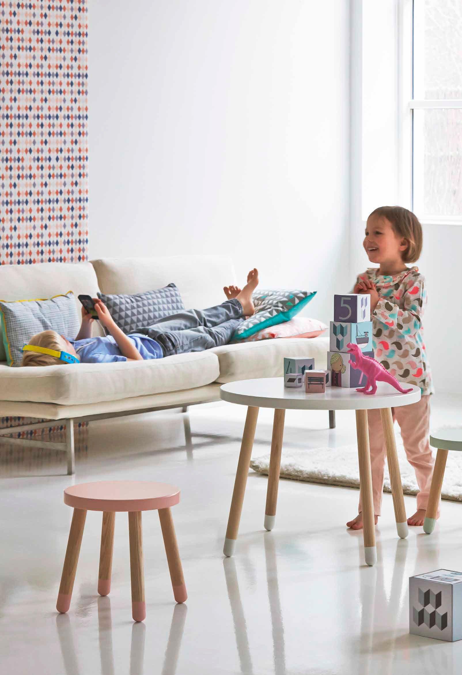 Kolorowe meble dziecięce Flexa Play