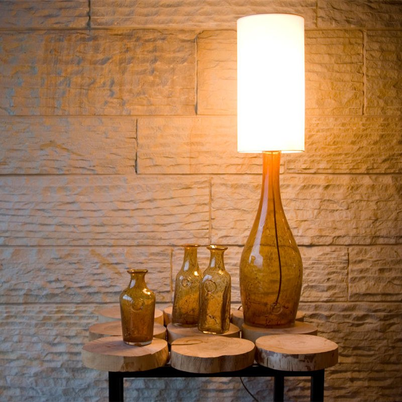 Stylowe szklane lampki nocne