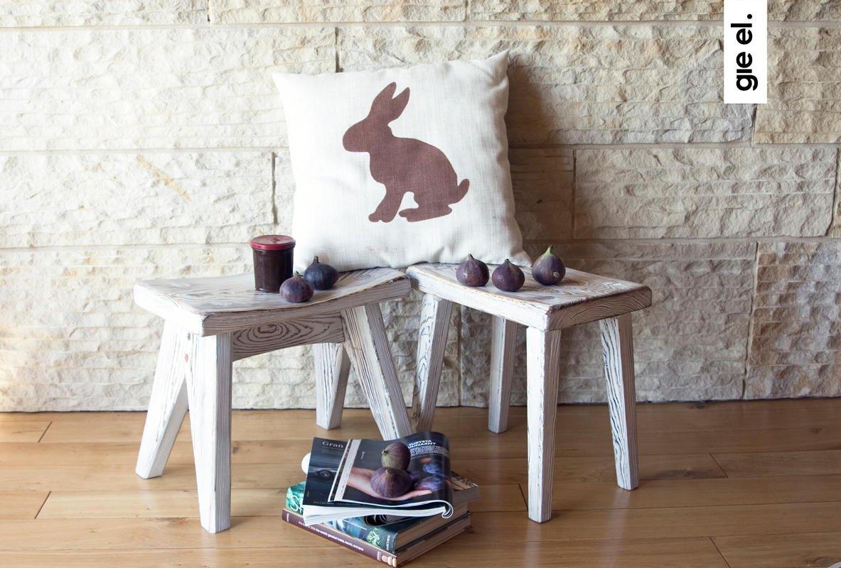 nowoczesne drewniane stoliki kawowe od Gie El
