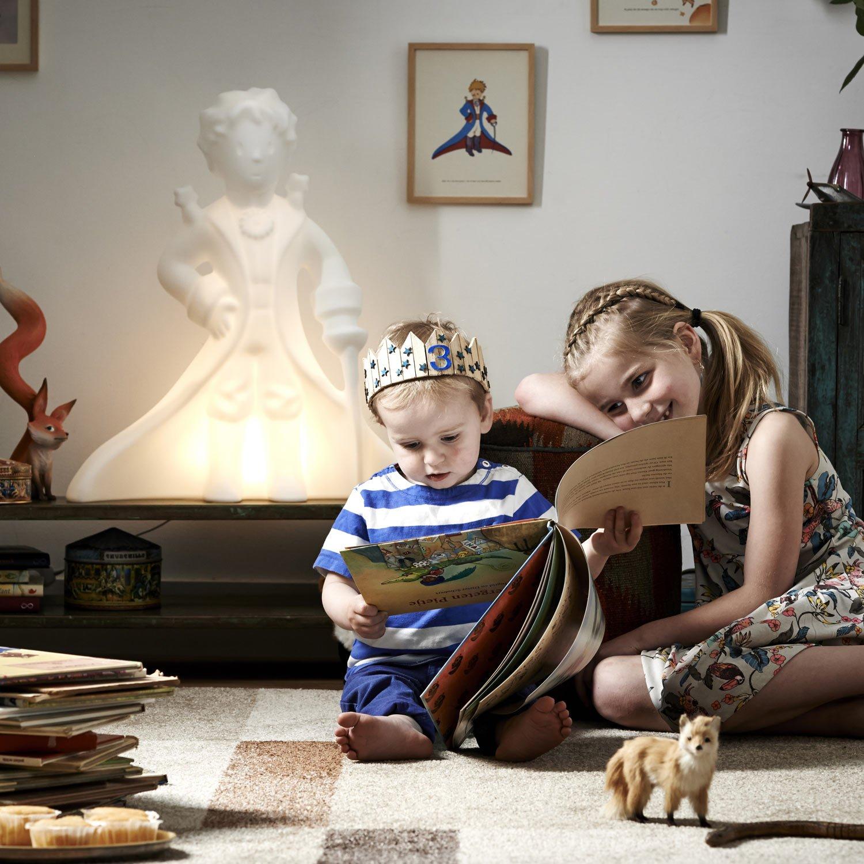 Lampka Mały Książe poznaje świat razem z nami