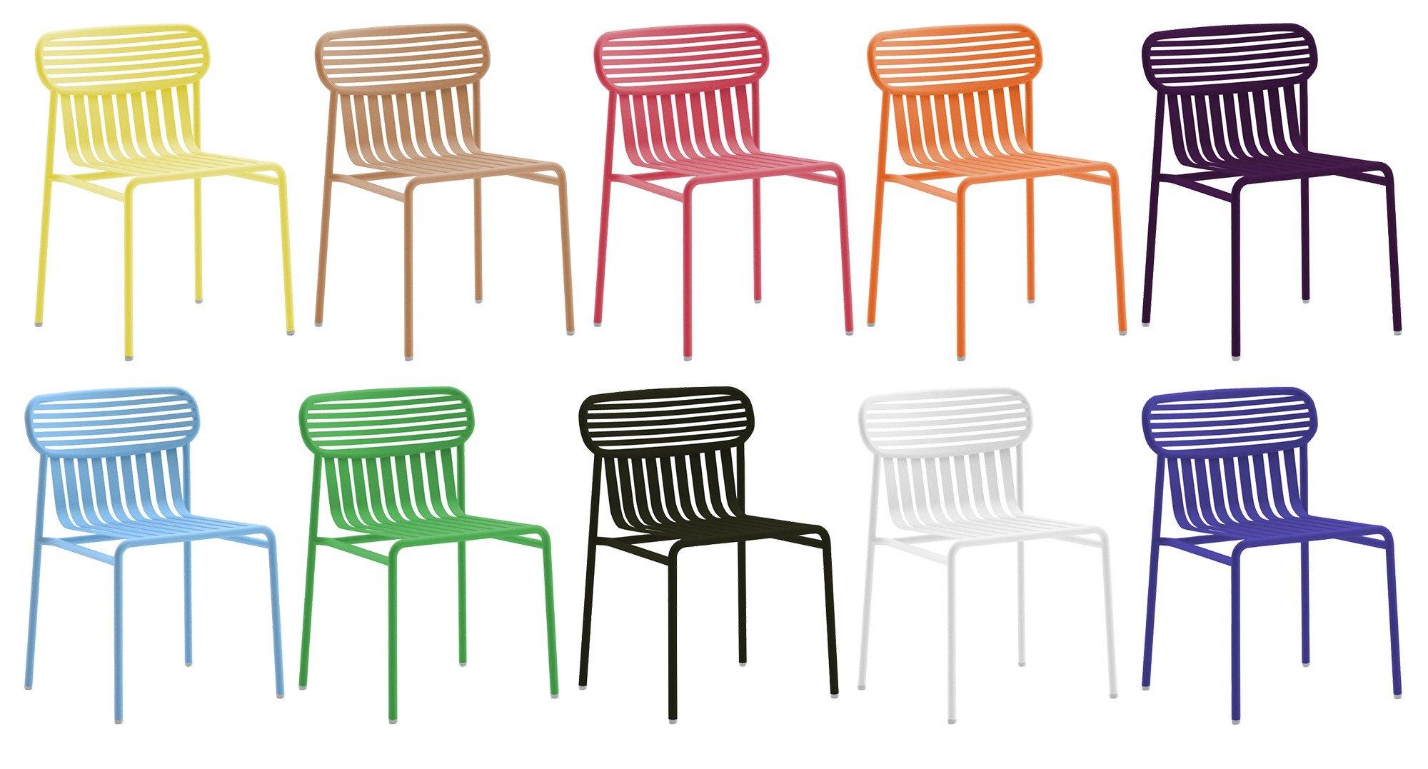 Nowoczesne Meble Ogrodowe Metalowe : Nowoczesne metalowe krzesło ogrodowe Weekend OXYO