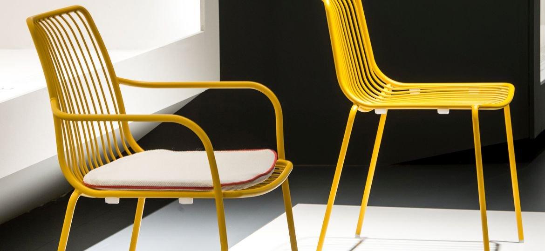Designerskie krzesła ogrodowe Nolita Pedrali