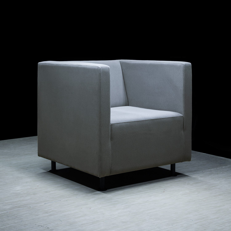 Designerski fotel Tapicerowany Reft F1