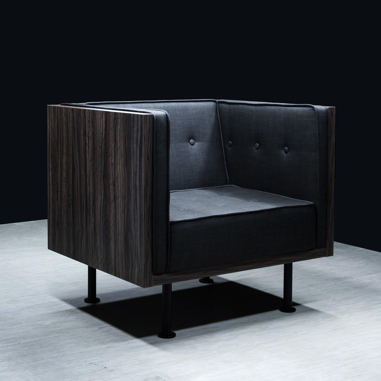 Designerski fotel F4 Reft