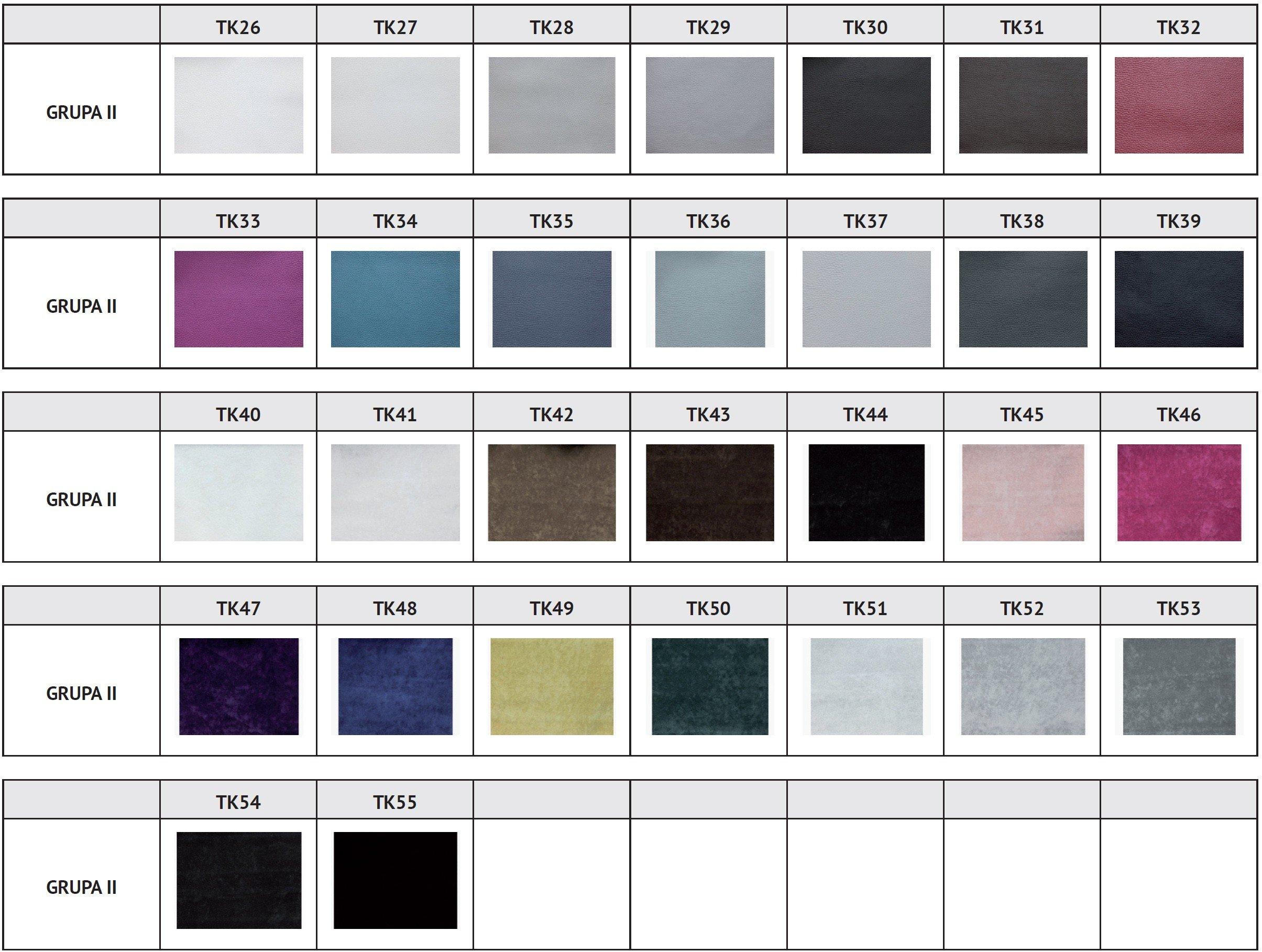 Designerski fotel Reft tapicerowany tkaniny grupa 2