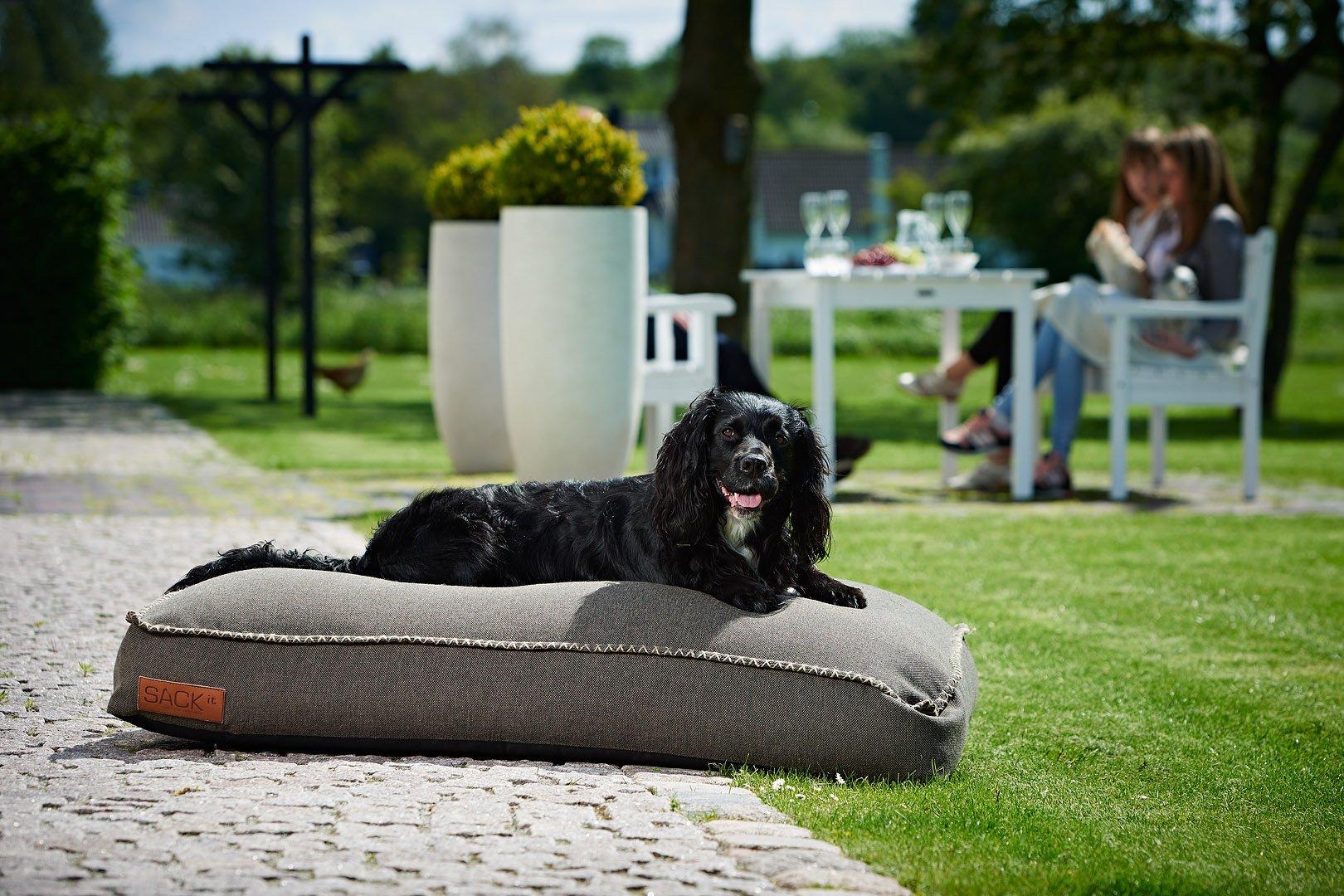 Designerskie legowisko dla psów do wnętrz i ogrodów