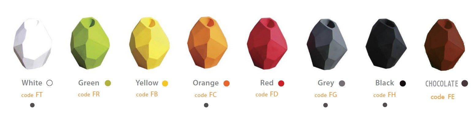 Designerskie meble ogrodowe Slide kolory matowe