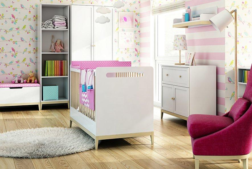 Piękne, nowoczesne meble do pokoju dziecięcego Elle Timoore