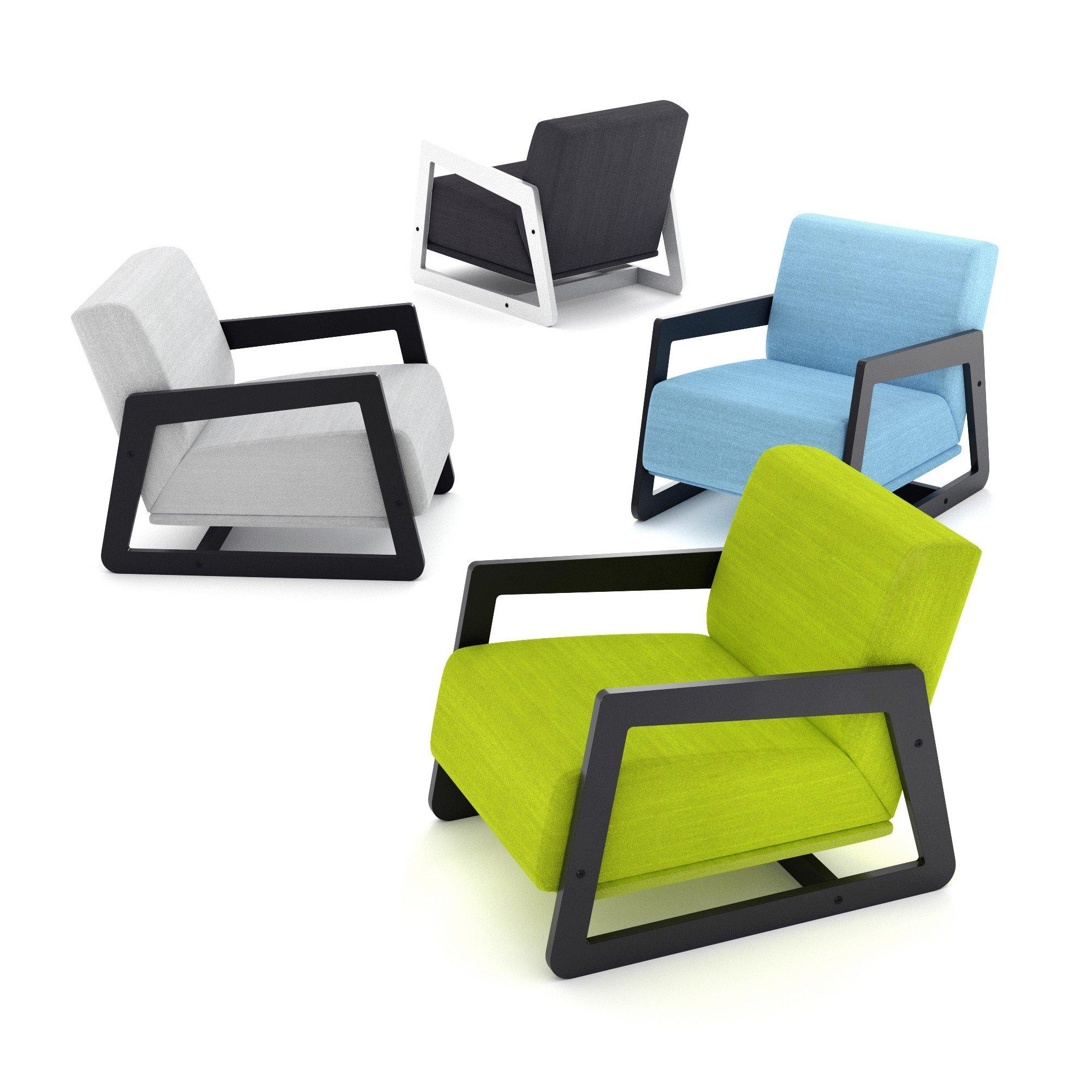 Designerski Fotel Do Pokoju Dziecięcego Lub Młodzieżowego