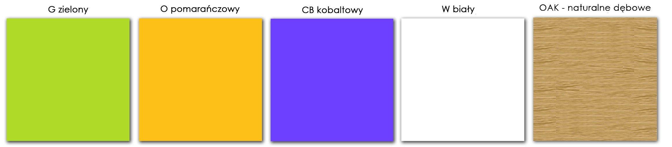 Meble Click - kolory wstawek