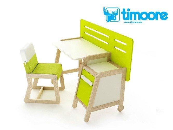 Kolorowe biurko dziecięce i młodzieżowe Simple Timoore