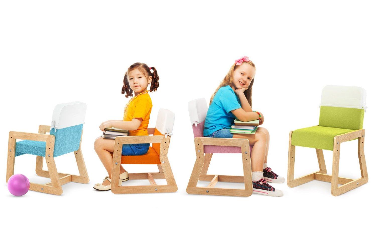 Nowoczesne krzesełka Up Me Timoore