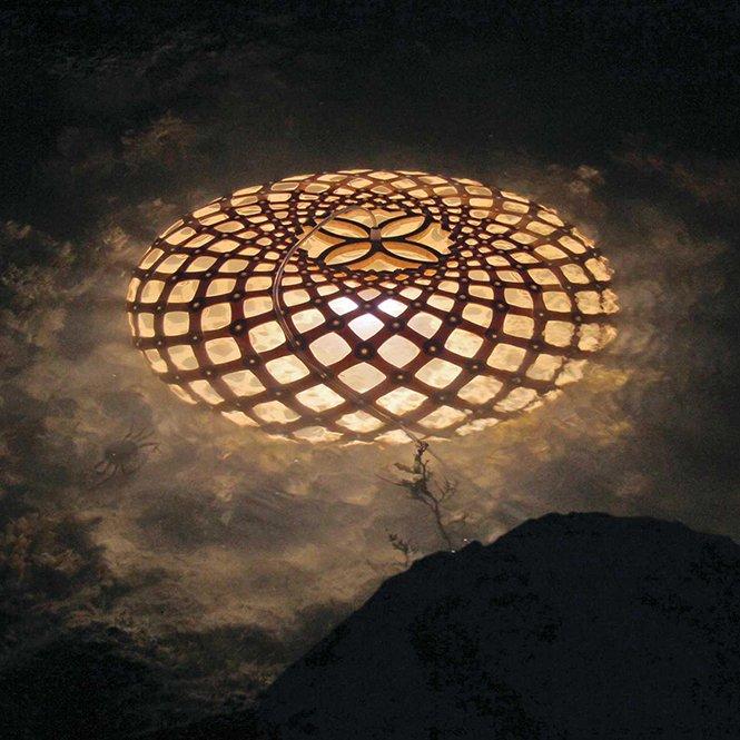Ekologiczne lampy wiszące inspirowane natura