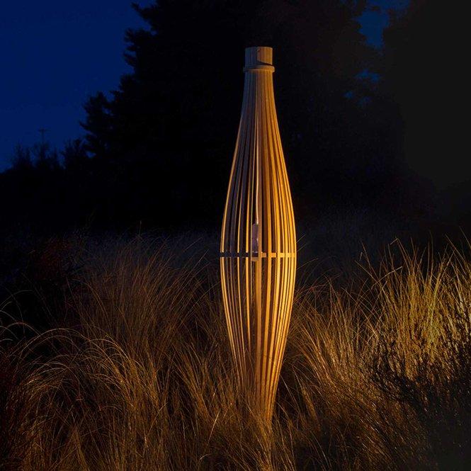 Stylowe lampy David Trubridge