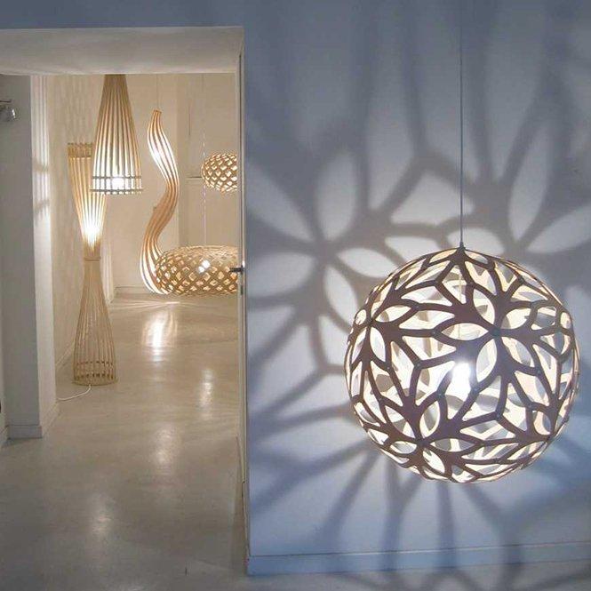 Piękne lampy wiszące David Trubridge