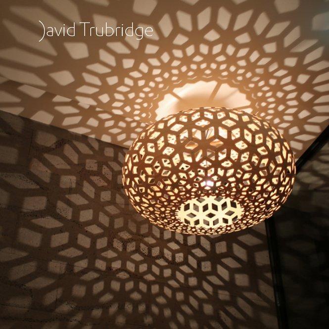 Nowoczesne lampy wiszące David Trubridge