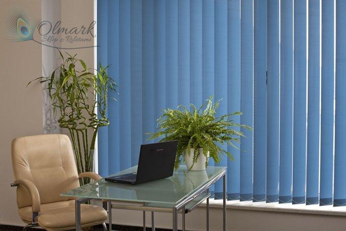 Błękit w biurze - to ciekawy pomysł
