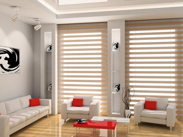 rolety do salonu na wymiar sklep wystr j okien. Black Bedroom Furniture Sets. Home Design Ideas