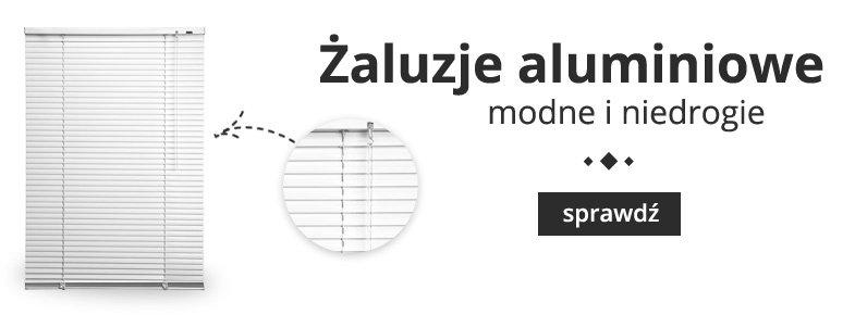 Żaluzje aluminiowe na wymiar - wycena