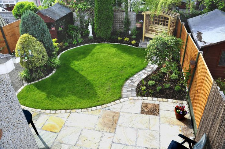 Jak urz dzi ogr d dekoracje do ogodu blog for Very small back garden designs
