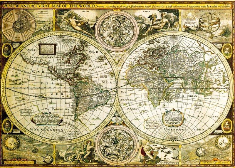 Mapy świata Na ścianę Obrazy Plakaty Fototapety Decoart24