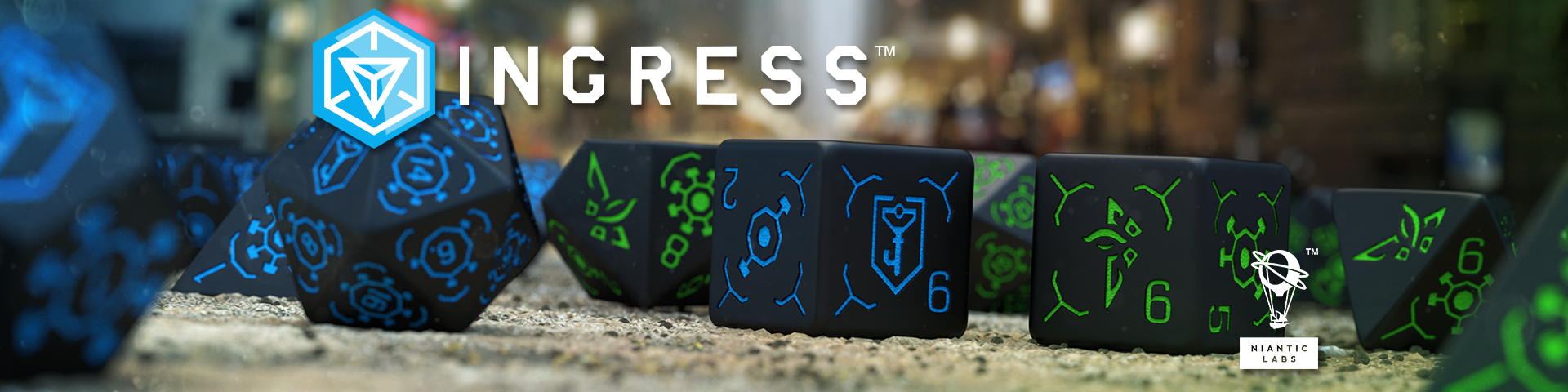 Ingress Dice Sets