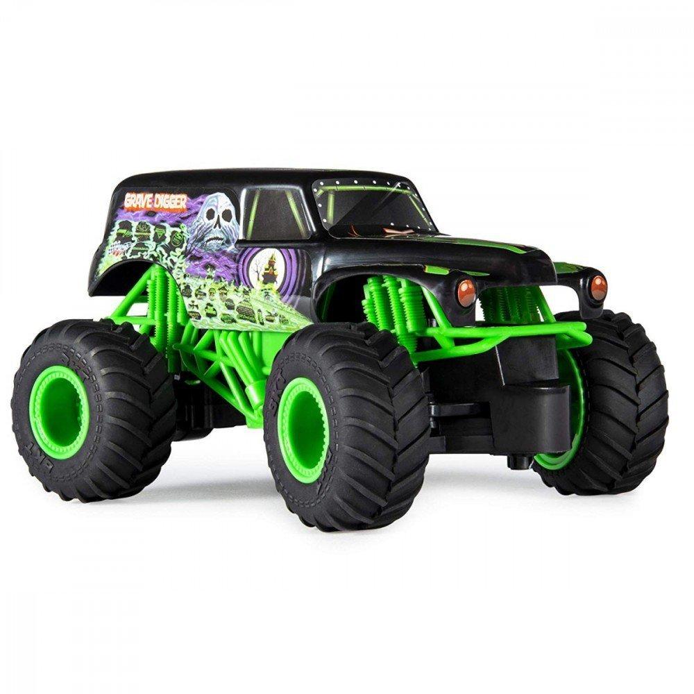778988548264,Pojazd RC MONSTER JAM 1:24 Grave Digger,spin ...