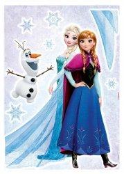 Naklejka Kraina Lodu Elsa Anna Olaf Disney Bajka Naklejki na ścianę ścienne