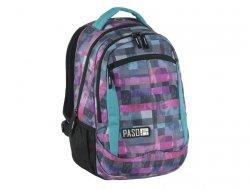 Plecak Młodzieżowy Szkolny Kolorowa Kratka Unique