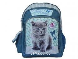 Plecak z Kotkiem Szkolny Kot Kotek dla Dziewczyny