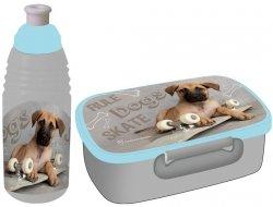 Śniadaniówka Bidon Pies Piesek z Pieskiem Pies Pojemnik na Śniadanie