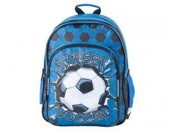 Plecak Szkolny Piłka Nożna dla Chłopaka z Piłką