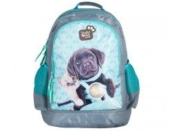 Plecak Szkolny z Kotkiem Kot Pieskiem Pies do Szkoły