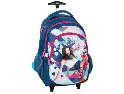 Plecak na Kółkach Soy Luna Szkolny dla Dziewczyny