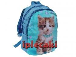 Plecak Przedszkolny z Kotkiem Kotem Kot Wycieczkowy