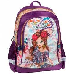 Winx Plecak Szkolny Fairy dla Dziewczyny Fioletowy