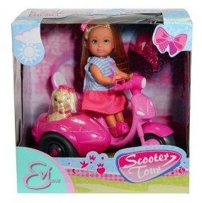 EVI Lalka na skuterze