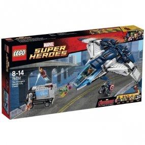 LEGO Super Heroes Pościg Avengersóww Quinjecie