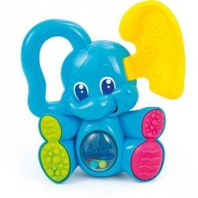 Grzechotka chowający się słoń
