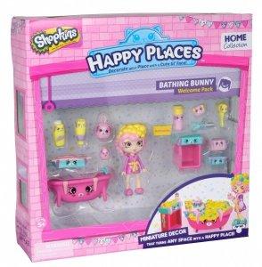 SHOPKINS HAPPY PLACES ZESTAW BATHING BUNNY 5+