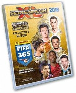 PANINI KOLEKCJA FIFA 365 2018 ALBUM KOLEKCJONERSKI ADRENALYN XL 5+