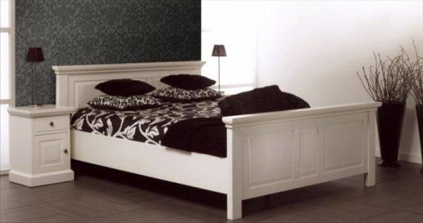 Białe łóżko Ted łóżka Białe łóżka