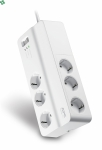 PM6-FR listwa przeciwprzepięciowa - APC Essential SurgeArrest 6 outlets 230V France