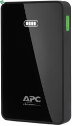 M10BK-EC Przenośny akumulator APC Mobile Power Pack, 10000 mAh litowo-polimerowy, czarny.