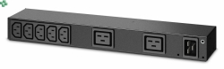 AP6120A Rack PDU, Basic, 0U/1U, 100-240V/20A, 220-240V/16A, (7) C13, (2) C19