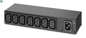 AP6015A RACK PDU, BASIC, 0U/1U, 120-240V/15A, 220-240V/10A, (8) C13
