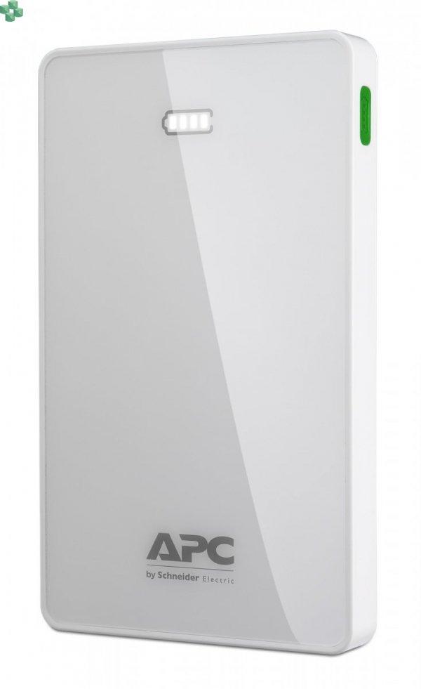 M10WH-EC Przenośny akumulator APC Mobile Power Pack, 10000 mAh litowo-polimerowy, biały