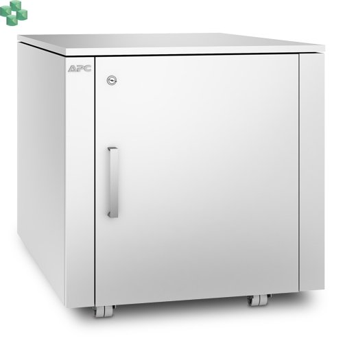AR4000MVX432 Wyciszona meblowa mini szafa serwerowa - NetShelter CX Mini 12U wykończenie białe.