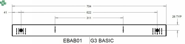 EBAB01 Listwa PDU EATON EPDU BA 0U (309 32A 3P) 3 x C13, 6 x C19